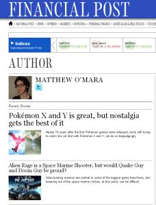 Matthew Financial Post