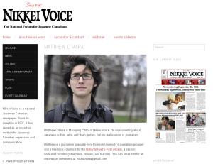 Matthew Nikkei Voice
