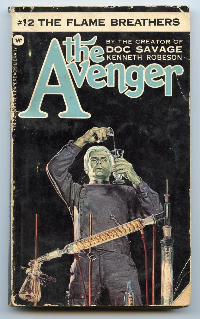 The_Avenger_12_The_Flame_Breathers_Cover