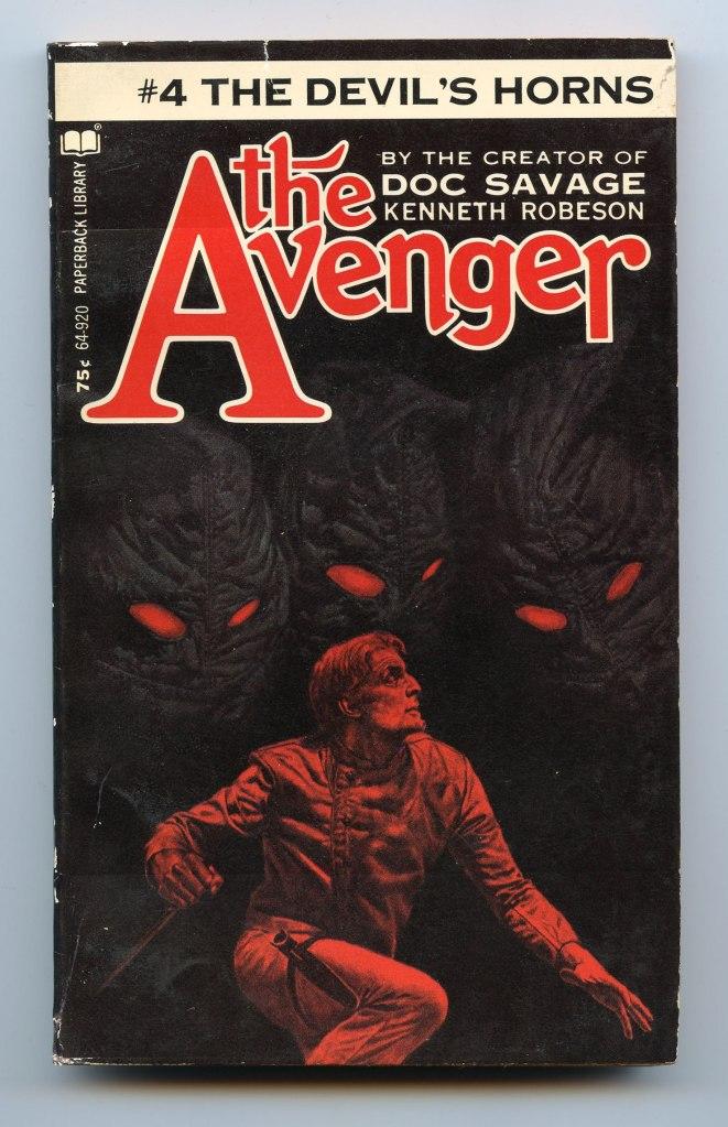 The_Avenger_4_The_Devil's_Horns_Cover