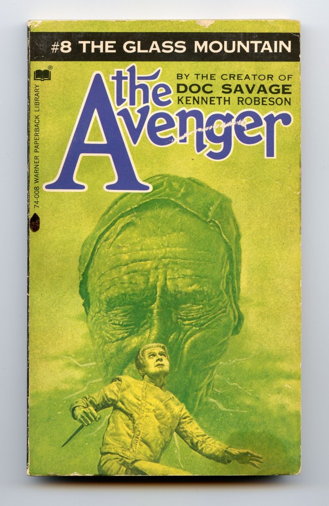 The_Avenger_8_The_Glass_Mountain_Cover