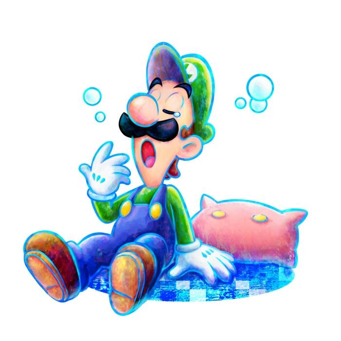 Wake the hell up Luigi!