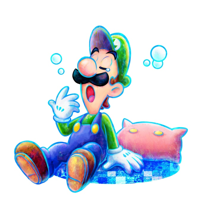 Wake the hell up Luigi!
