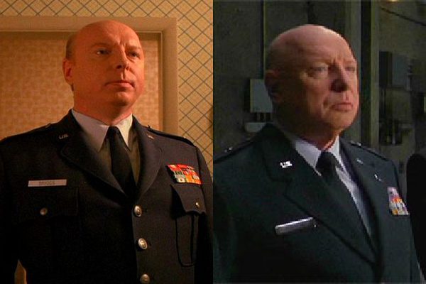 Garland Briggs and General Hammond from Stargate, coincidence? I think not!