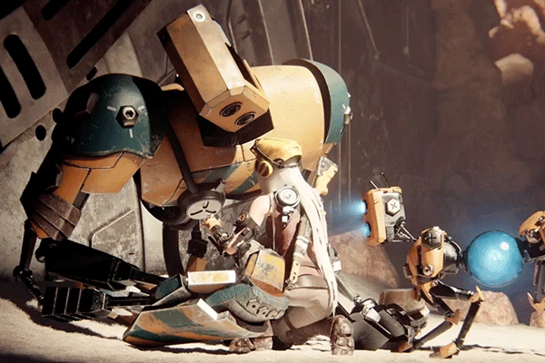 ReCore's world is a mystery, but my tears won't be if the companion doesn't make it through the game.