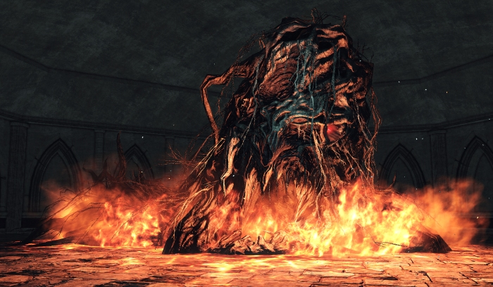 Aldia's human form has been lost as he sought to shed his humanity to see into the true darkness.