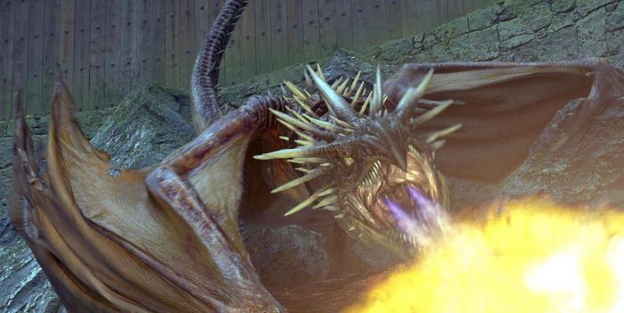 Freaking dragons.