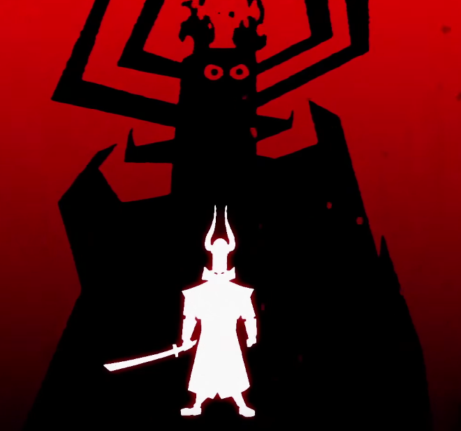 This, undoubtedly, is Aku.