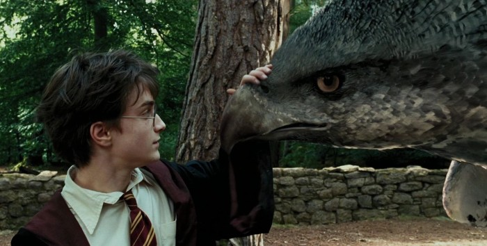 Don't worry Buckbeak, Sirius will take care of you.