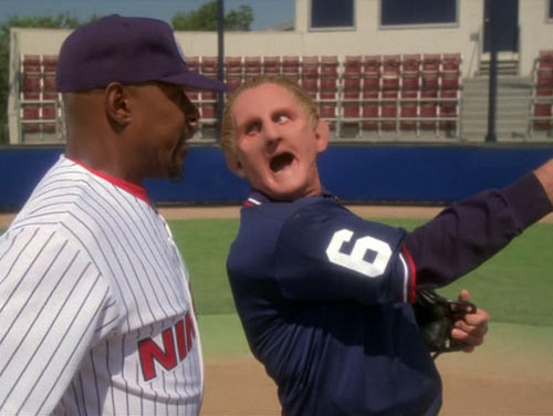 He also really liked being an umpire in that one episode.